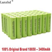 2021 nowy 3.7V 18650 bateria 3400mAh INR18650 30A rozładowania Li-ion akumulator do latarki narzędzia i zabawki (10-40 sztuk)