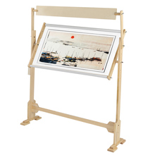 Large Size Embroidery Stand Solid Wooden Frames Adjustable Wood Frame For Cross Stitch Needlework Sewing Handmade Tools