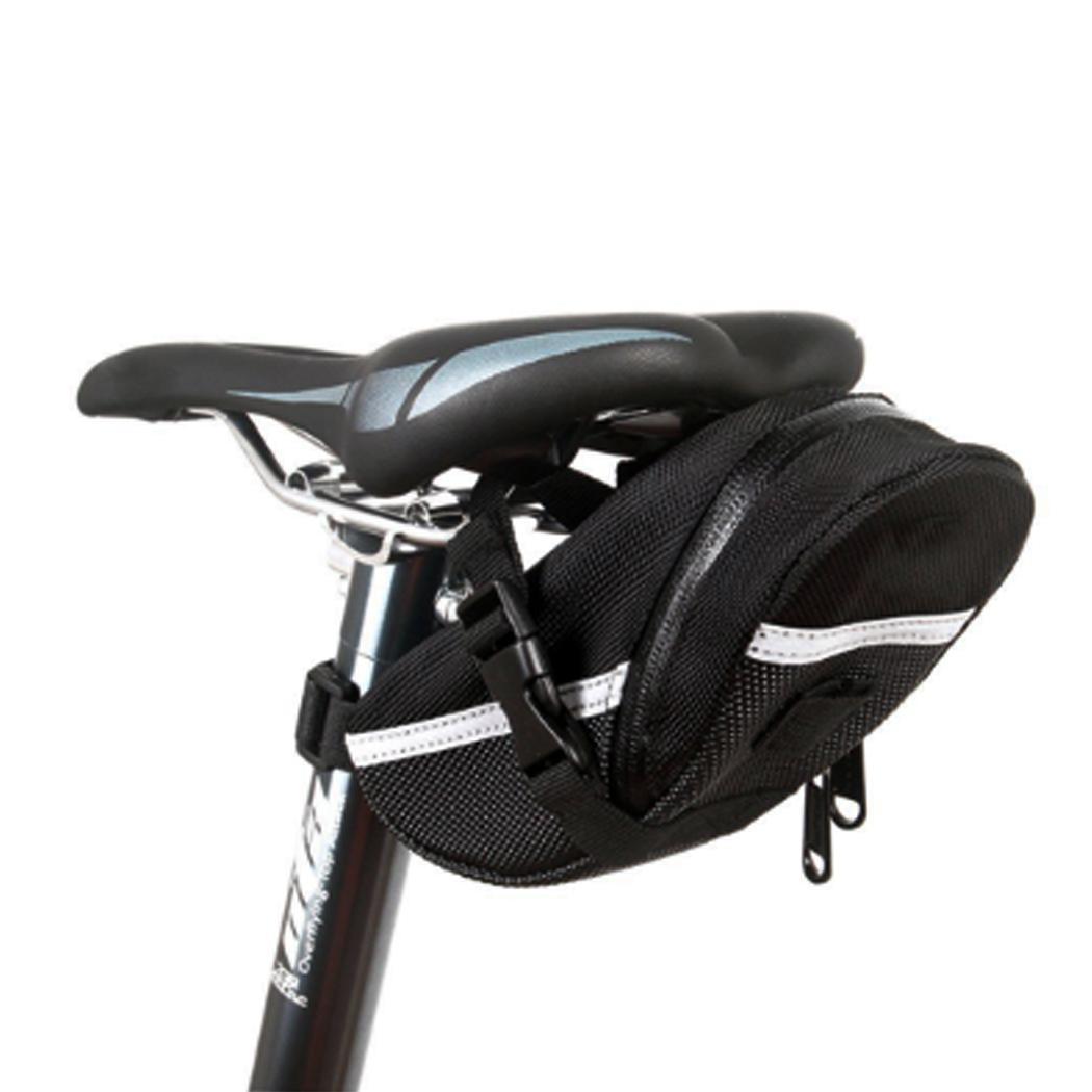 Bicycle Seat Saddle Bag Bike Rear Pouch Mountain Cycling Seat Nylon Storage Bag
