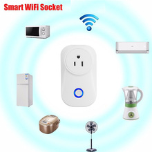 Free Shipping Smart socket support alexa voice control WiFi smart socket
