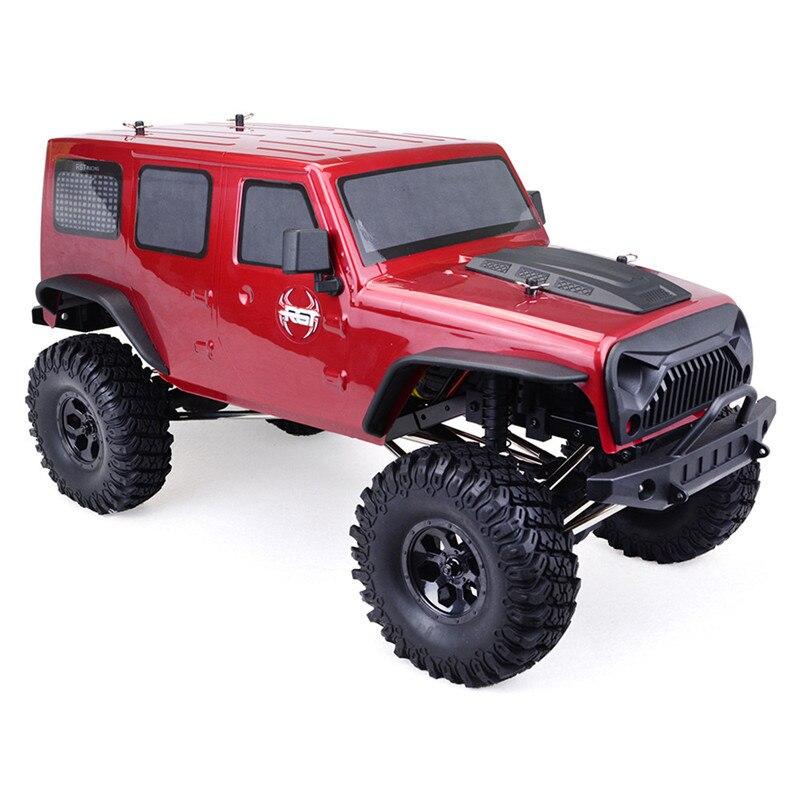 2019 nouveau RGT EX86100 1/10 2.4G 4WD 510mm brossé étanche Rc voiture tout-terrain voiture roche chenille RTR jouet extérieur enfants cadeaux