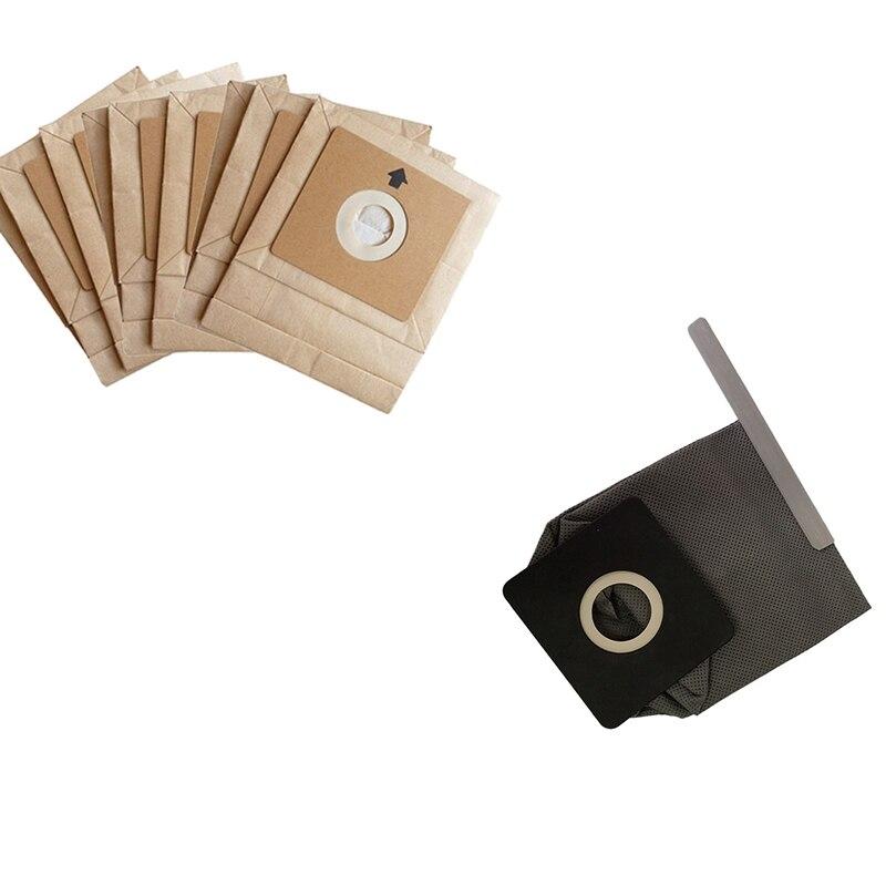 Пылесосы для автомобиля Relacement запчасти 1 шт. моющийся мешок + 15 100x110 мм диаметр 50 основной вакуумный очиститель бумажные мешки