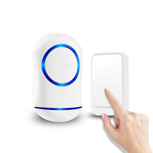 JXSFLYE Intelligent Wireless Doorbell Saving power Smart home security With Transmitter US EU JP  Plug
