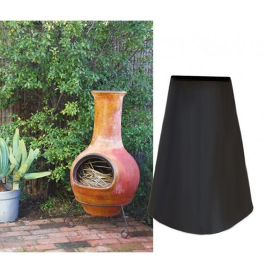 Protector Waterproof Heaters Chimenea-Cover Garden-Products Black Quality Outdoor
