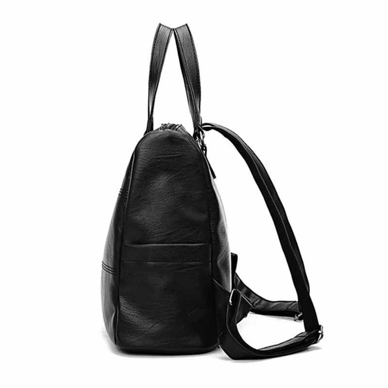 Osmond Feminina Back Pack женские рюкзаки Женская дорожная сумка на плечо модные рюкзаки из искусственной кожи для женщин школьные сумки Mochila