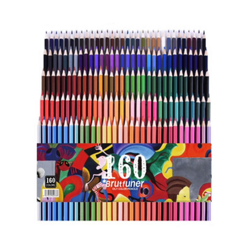 60 pièces/ensemble crayons en bois de couleur pour enfants écriture cadeau artiste peinture huile couleur crayon pour école dessin croquis Art fournitures