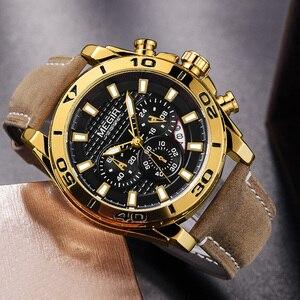 Image 4 - Relojes 2020 MEGIR zegarek mężczyźni moda Sport zegar kwarcowy męskie zegarki Top marka luksusowy wodoodporny zegarek godzina Relogio Masculino