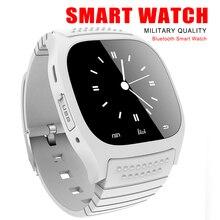 Neueste Smart Uhr Bluetooth Android Uhren Fitness Tracker Armbanduhr Smartwatch für Android Handys Tragbare Geräte