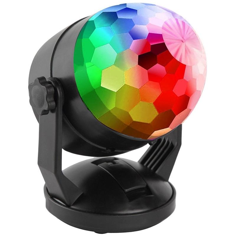 Luzes de festa luz de discoteca bola de discoteca festa luz estroboscópica para festas de dança, dia das bruxas, natal, festa, presente, aniversário