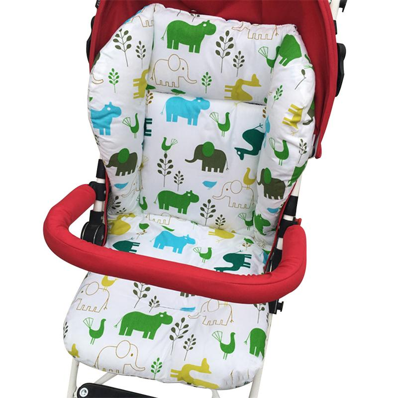 Baby Stroller Cushion Harness High Chair Car Seat Pad Pram Mattress Baby Umbrella Stroller Warm Pad Stroller Accessories O3