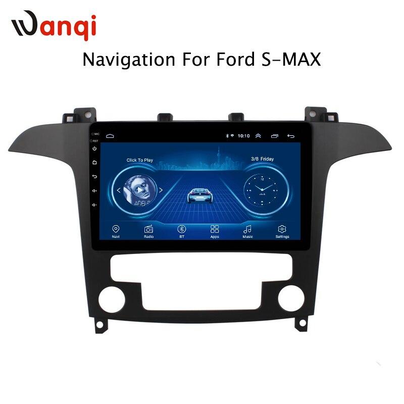 Pour Ford s-max 2007 2008 offre spéciale 9 pouces Android 8.1 lecteur Dvd Gps de voiture intégré Radio vidéo Navigation Bt Wifi