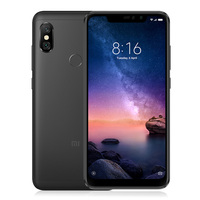 Global Version Xiaomi Redmi Note 6 Pro 4GB 64GB Snapdragon 636 Octa Core 6.26 Notch Full Screen 4000mAh Fingerprint Smartphone