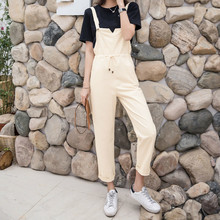 Fashion Loose Women Denim Jumpsuits 2019 Spring Summer New Female Washed Jeans Playsuits Bodysuits