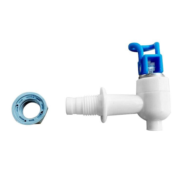 EAS-Water Dispenser Cooler Drink 7.3mm Exit Spigots Valve Faucet White Blue