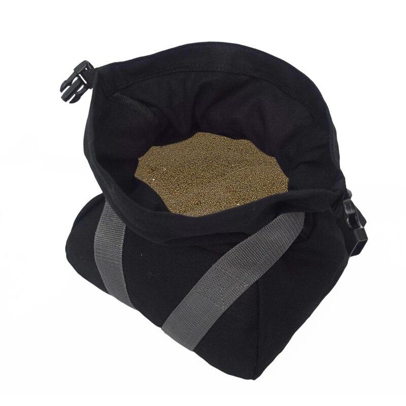 SGODDE Portable Canvas Empty Cross-Fit Weightlifting Sand Bag Boxing Target Bag Foldable Multi-Function Muscle Training Sandbag