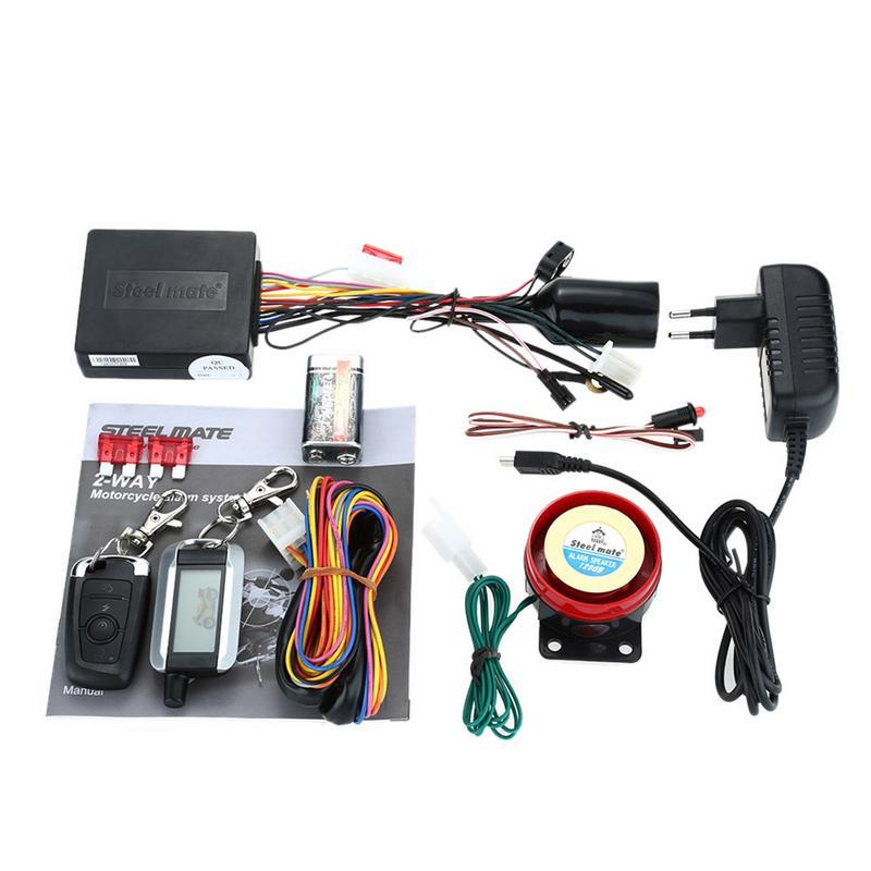 Système d'alarme de sécurité antivol avec bouton-poussoir automatique arrêt de démarrage 986XO télécommande verrouillage Central moteur