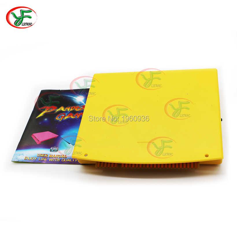 판도라 DIY 아케이드 캐비닛 키트 Jamma 카트리지 키트 멀티 게임 1299 /2600/ 3188 /2323 게임 보드 LED 버튼 8 웨이 조이스틱