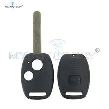 Запасной чехол remtekey (без чипа) 2 кнопки для honda crv civic