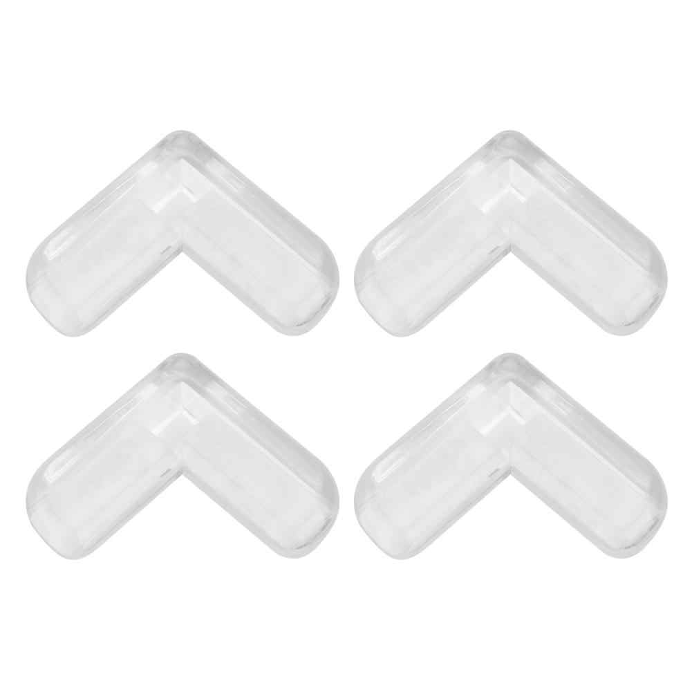 4PCS Baby Kid Safety Transparent Protector Pad Furniture Edge Table Corner Protection Corner Protectors 2019 new style