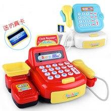 Children Classic Supermarket Cash Register Kits Pretend & Pl