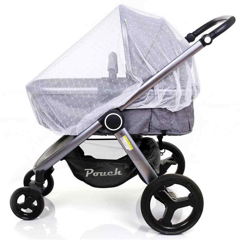 1 шт. детская коляска с вышивкой Солнцезащитная сетка от комаров для коляски Аксессуары для детской коляски детское автомобильное сиденье Солнцезащитная сетка для новорожденных