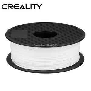 Image 4 - CREALITY 3D Принтер Нити Ender бренд белый/черный цвет нити 2 кг/лот высокое качество PLA 1,75 мм для 3D принтера печати