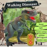 Electronic Remote Control Walking Dinosaur Toys Smart RC Tyrannosaurus Light Sound Action Toy Educational Kids Children Gifts