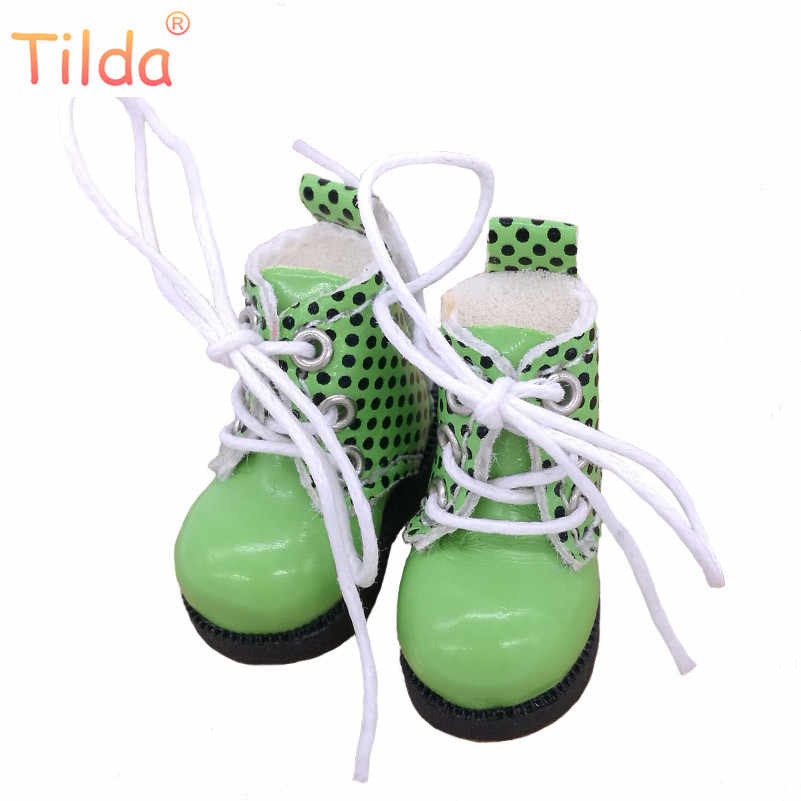 """Тильда 3,2 см кукольная обувь для куклы """"Blythe azone"""" кукла игрушка, 1/8 мини прекрасные кожаные точки спортивная обувь для BJD обувь для куклы аксессуары для обуви"""
