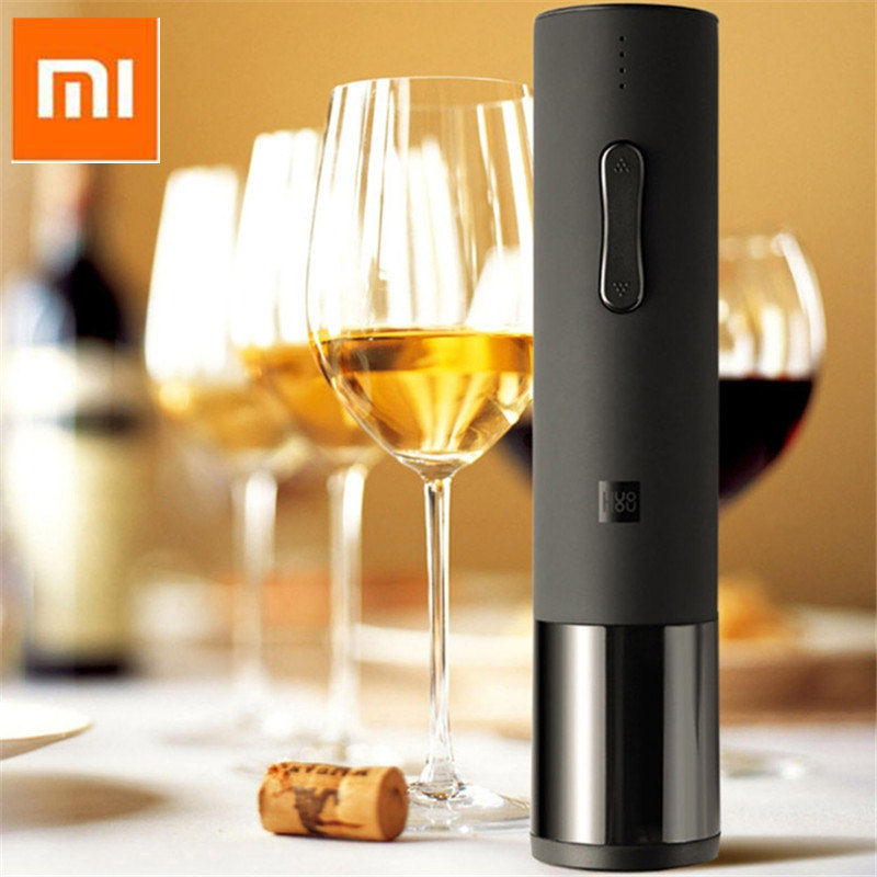 Xiaomi Mijia Creative Wine Electric Bottle Opener Opened