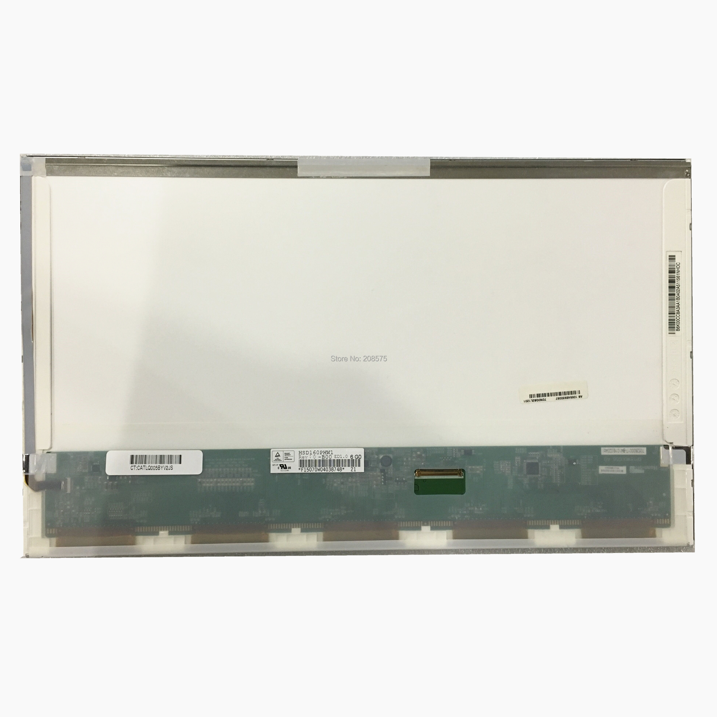 Free Shipping HSD160PHW1 HSD160PHW1 B00 LTN160AT06 16 inch Laptop LCD Screen fit for ASUS N61 N61VG