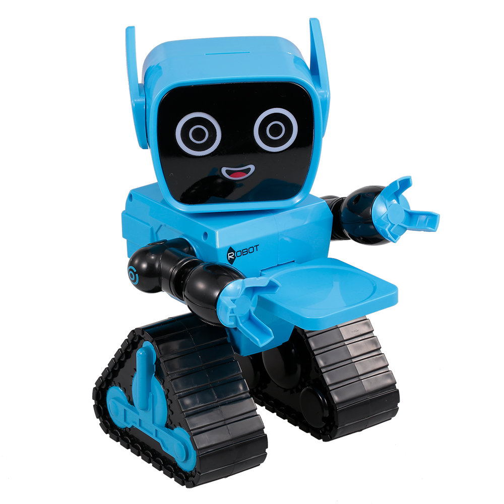 Smart RC Robot Early Education RC Toy for Preschool Kids Remote Control Programmable Sound Touchable Control Pot Music Dance