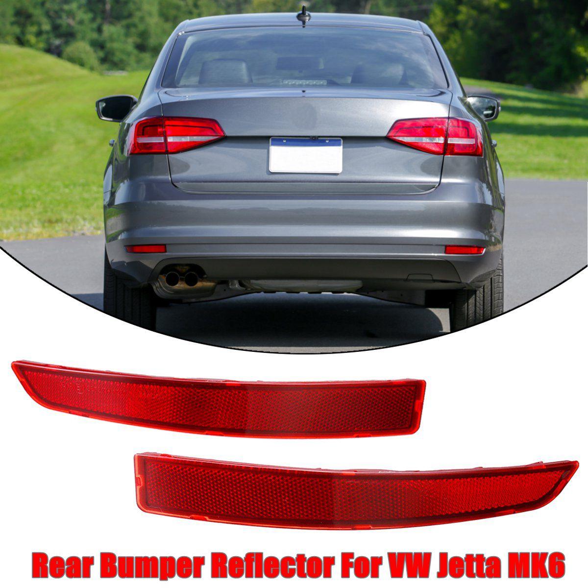 New Genuine OEM VW Rear Bumper Reflector Jetta 2015-17 MK6 Passenger Side Marker