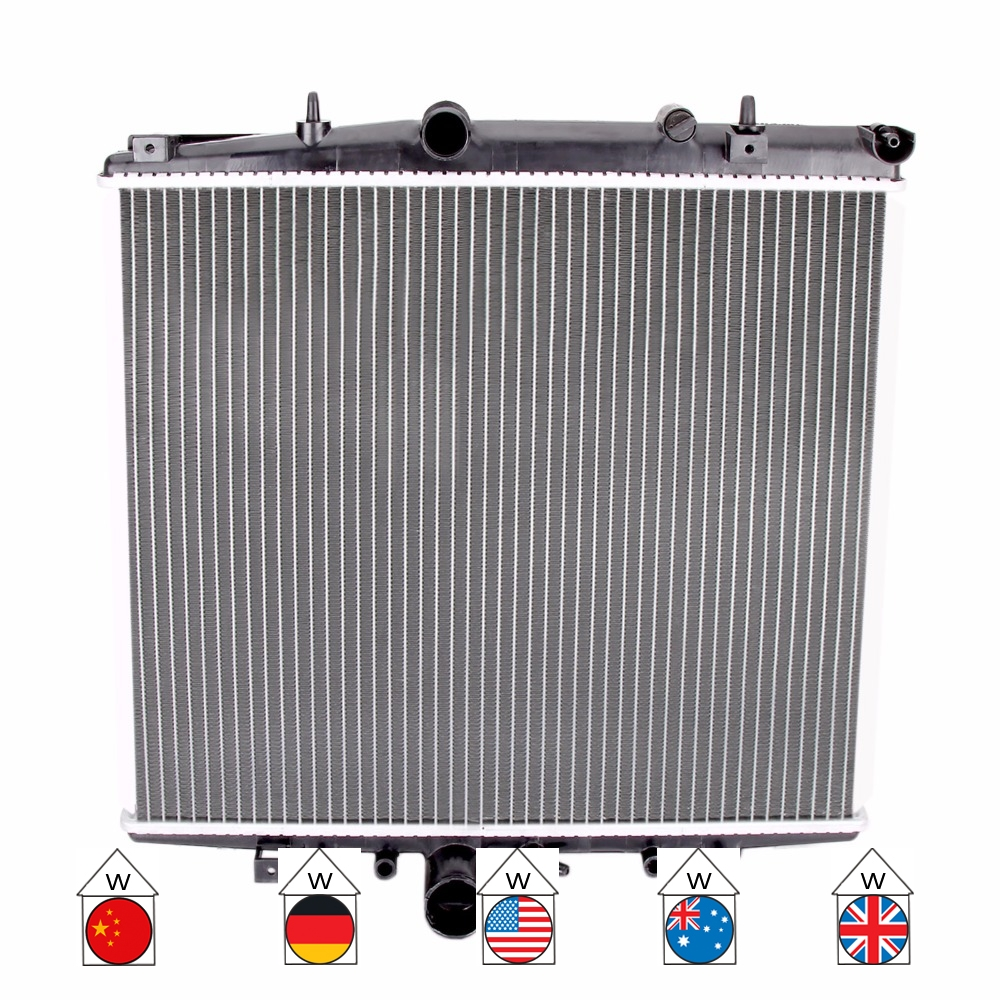 Car RADIATOR FOR Citroen Lancia Peugeot C8 Ulysse Phedra EA EB 179AX 179 E 2.0 2002-2014 1997 Ccm 100 KW 136 PS