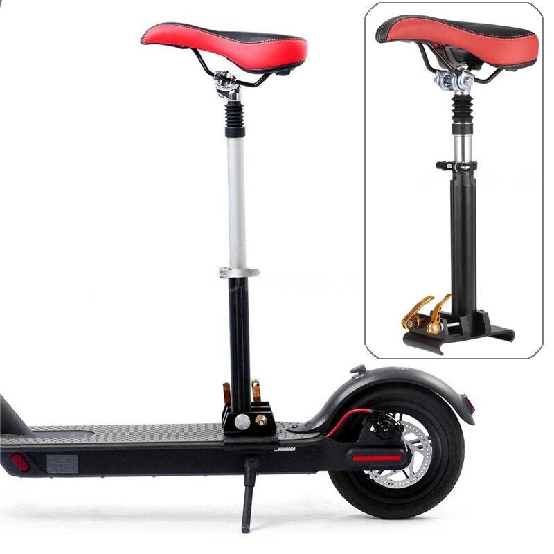 Scooter électrique réglable siège de selle pliable aiguille gratuite pour Xiaomi M365 Scooter électrique planche à roulettes siège absorbant les chocs
