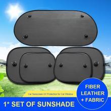 Черная сетка солнцезащитный козырек детский автомобильный Солнцезащитный УФ-защита солнцезащитный козырек для окна автомобиля солнцезащитный козырек на присосках с сумкой для хранения