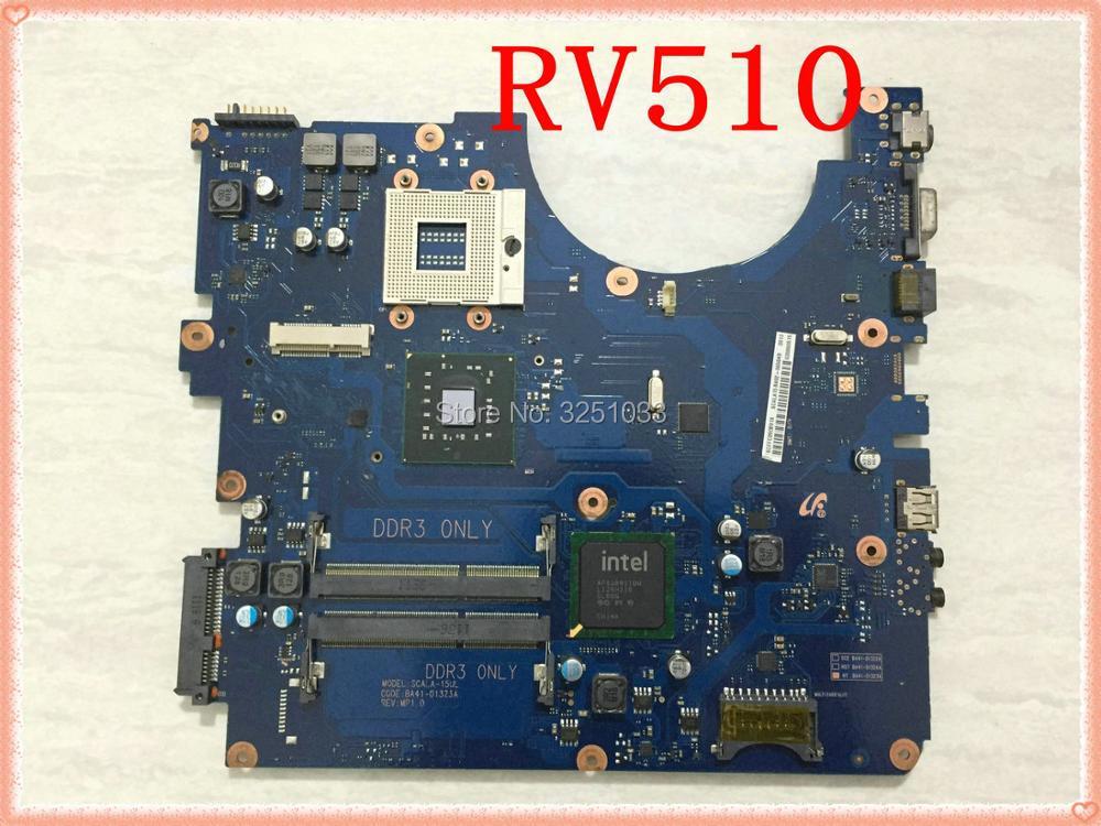 for Samsung RV510 Laptop Motherboard BA92 06564A BA92 06564B BA41 01323A SCALA 15UL GL40 DDR3 MainBoard