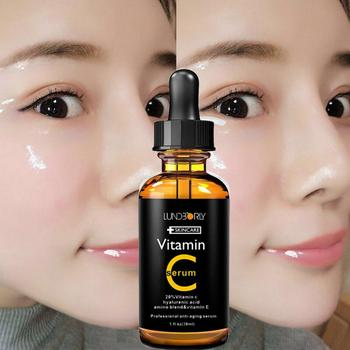 Face Facial Serum Vitamin C vitamin E essence Vitamin C Moisturizing Essence Skin Care anti-Wrinkle Lifting Tight Whitening Skin фото