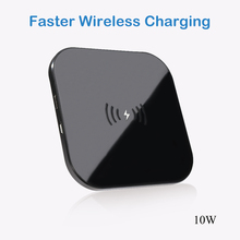 Qi Wireless Charger for iPhone X XR Huawei P20lite Quick Charge 3.0 Fast Wireless Charging Pad for Samsung S9 S8 Mobile Charger