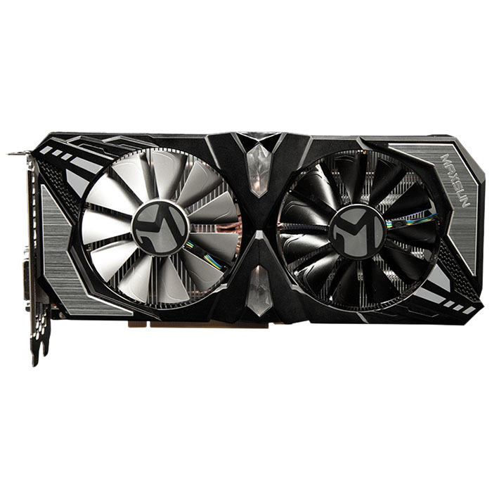 MAXSUN GeForce GTX 1660Ti Terminator 6G Nvidia Gaming Video Graphics Card RGB e-sports atmosphere light VRWorks Audio image