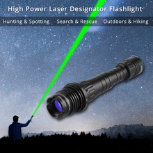 Laserspeed Long Distance Green Laser Designator Flashlight Sight Rifle 100mw Zoomable High Power Hunting Weapons Laser Scope very100 green laser genetics nd3 x40 long distance laser designator pointer with mount