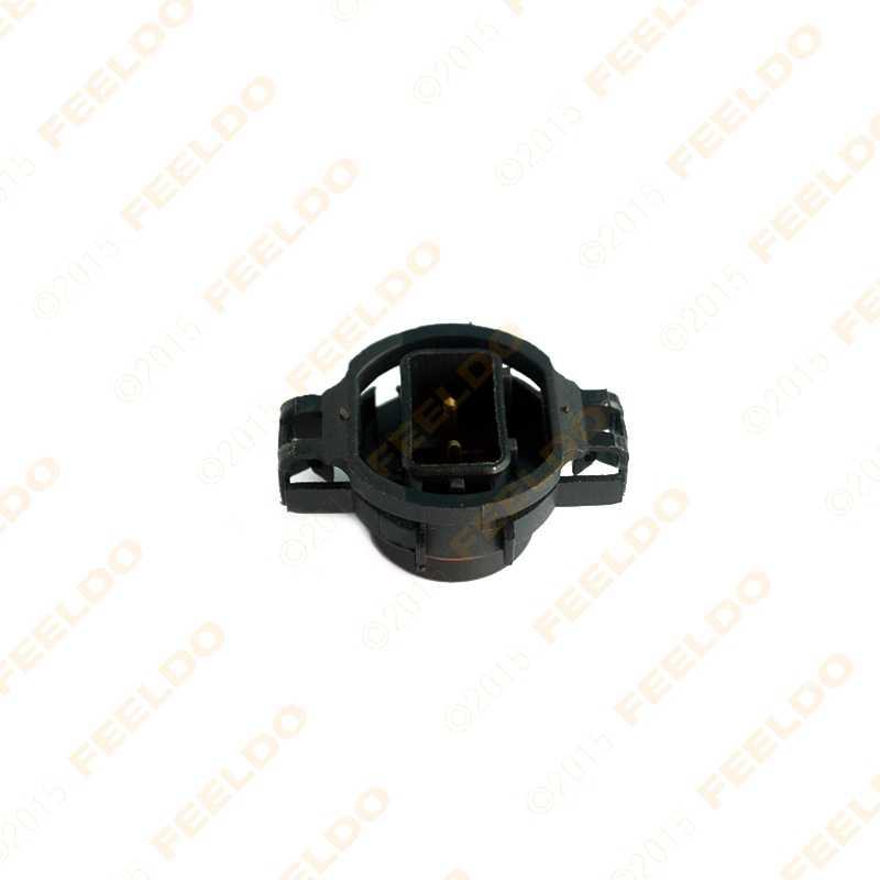 FEELDO 40 шт. H16/5202/2504/PSX24W лампы разъем для противотуманных фар держатель вилка
