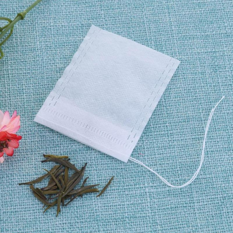 100Pcs/Lot Teabags 7x9/6x8/5.5 X 7cm Empty Scented Tea Bags With String Heal Seal Filter Paper For Herb Loose Tea Bolsas De Te
