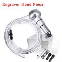 Graver Handle Hand Piece For Engraving Machine Pneumatic Jewelry Making Tools for Jewelry Making Crafting Metal Working Design