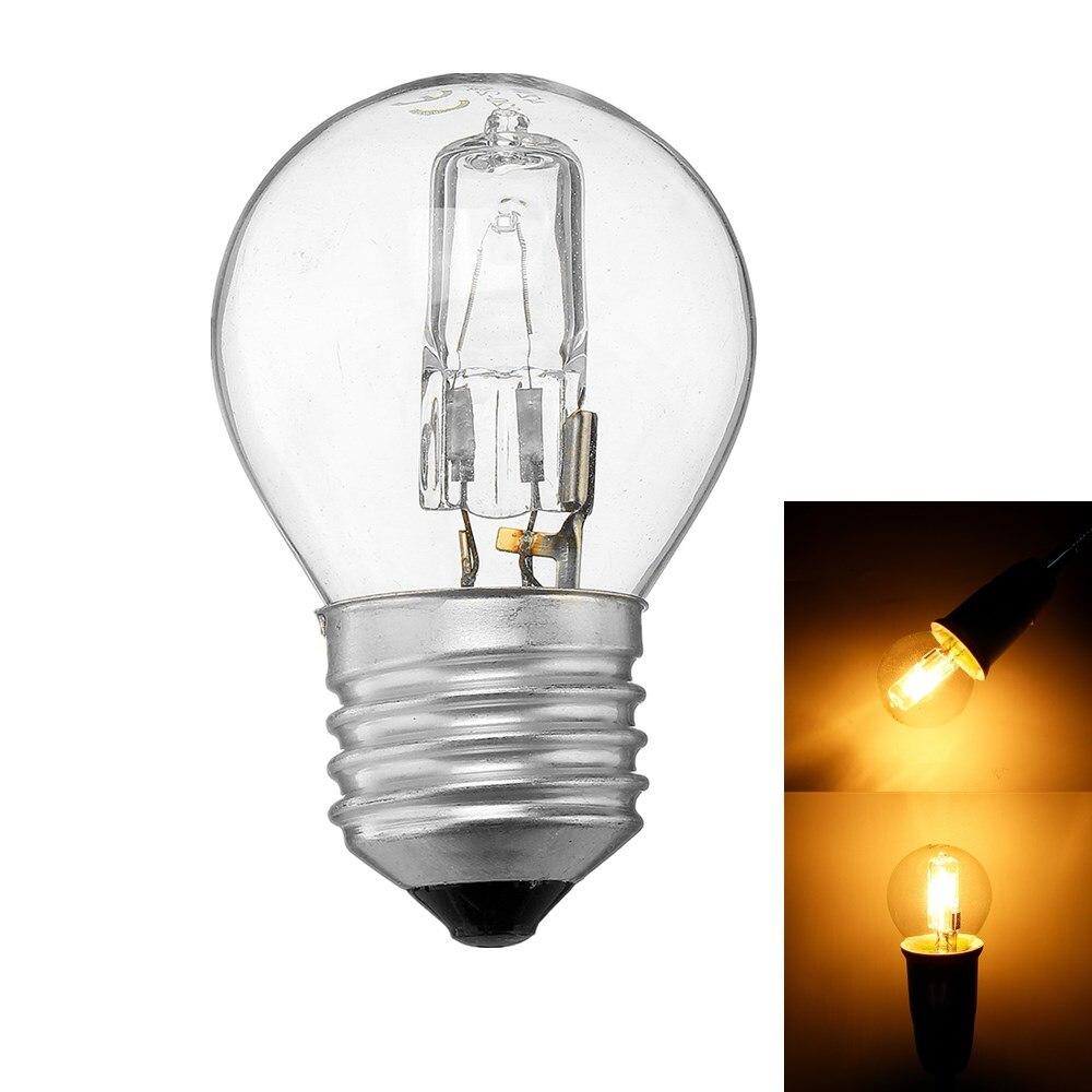 CLAITE Microwave Oven Light Bulb E27 G45 42W High Temperature 300 Microwave Oven Light Bulb AC110-250V