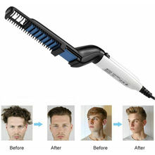 Hair Styling Tool Multifunctional Hair Comb Curling Iron