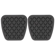 2 Stuks Rem Koppeling Pedaal Pad Rubber Cover Set Voor Honda Civic Accord CR-V Acura Auto-Styling Best Selling rem Koppeling Pedaal Pad(China)