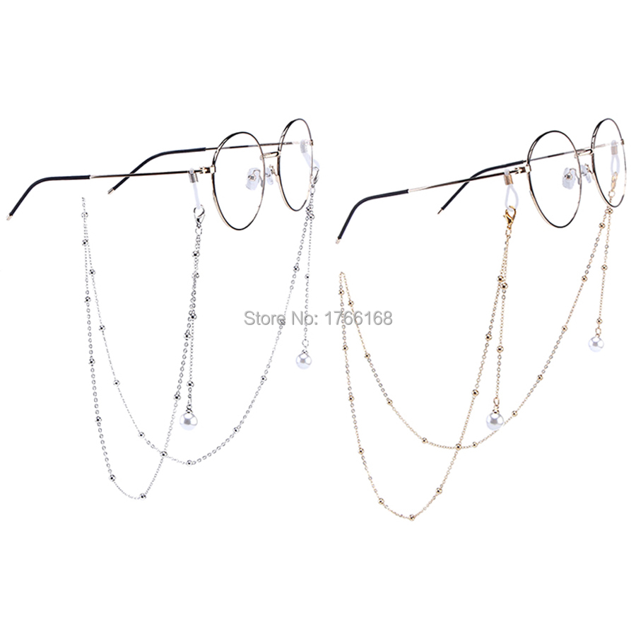 20pcs Fashion Metal Eye Glasses Cord with tassels Sunglasses Spectacles Vintage Holder Cord Lanyard Necklace