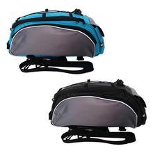 Outdoor Bicycle Bag Multifunction 13L Bike Tail Rear Bag Saddle Cycling Bicicleta Basket Rack Trunk Bag Shoulder Handbag цена