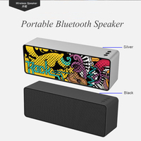Good Bluetooth 4.2 Portable Speaker Big Power Sound System 3D Stereo Music Surround Support Bluetooth Mic TF AUX USB,hendfree
