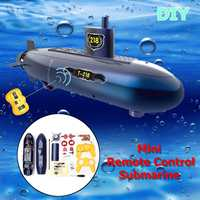 Funny RC Mini Submarine 6 Channels Remote Control Under Water Ship RC Boat Model Kids Toy Gift For Children
